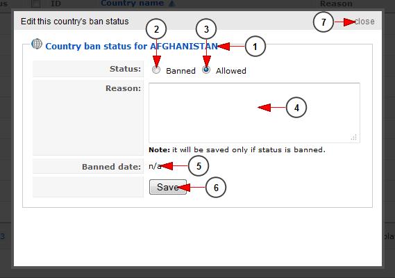 edit country ban status