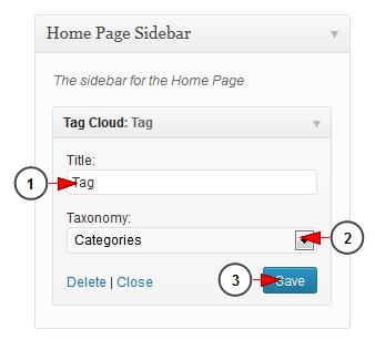 wordpress widget tag cloud