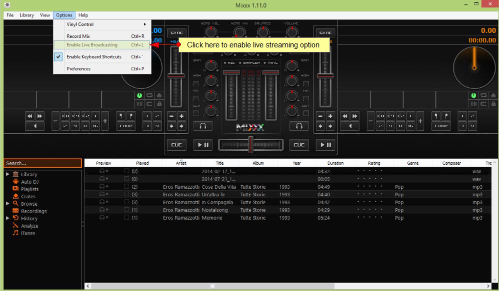 mixx-broadcaster