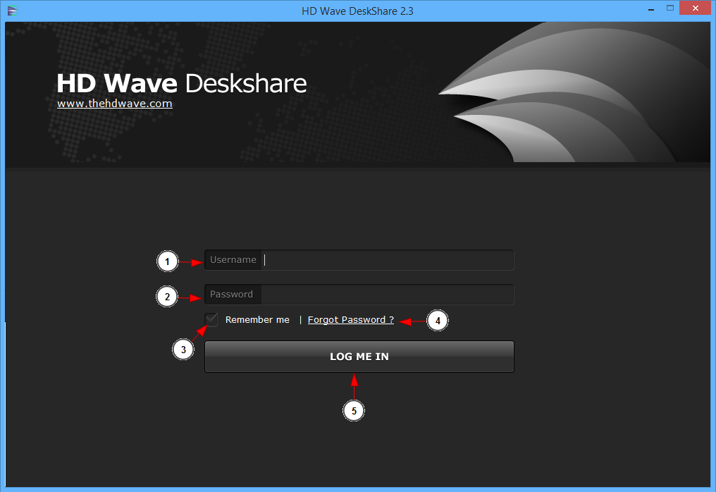 Run Hdwave Deskshare 1